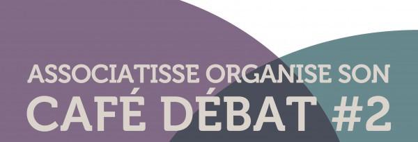 """affiche de l animation CAFE DEBAT """"Comment faire plus avec moins"""""""