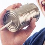 personne en train de communiquer