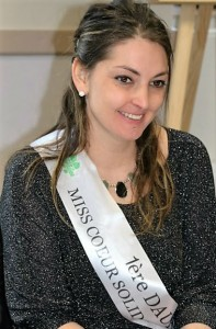photo de la 1ère Dauphine miss coeur 2016 vaincre la mucoviscidose en aveyron