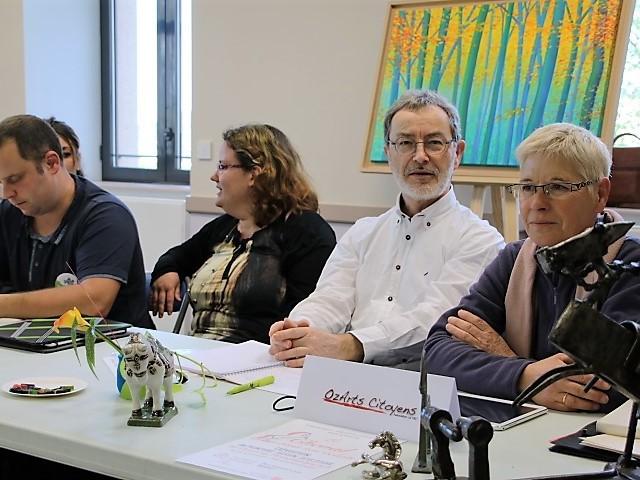 les associations participantes à l'animation PAROLE AUX BENEVOLES