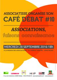 l affiche de ce 10ème café débat