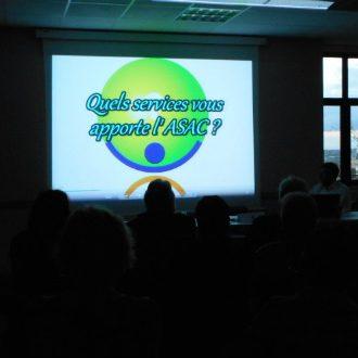 l'ASAC présente sur vidéo leurs services aux entreprises et particuliers