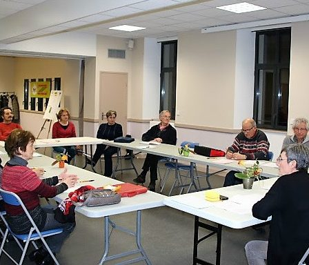 Vue de la salle du 12ème café débat ASSOCIATISSE