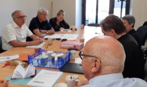 réunion des commissions communication et animation